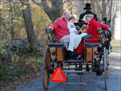 Horse and carriage rides at Blithewold