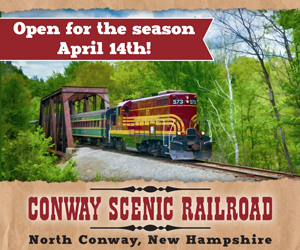 Conway Scenic Railroad - Opening for the 2018 Season on April 14th! See you then!