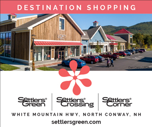 Destination Shopping in the Mount Washington Valley - Settlers Green, Settlers Crossing and Settlers Corner, White Mountain Highway in North Conway