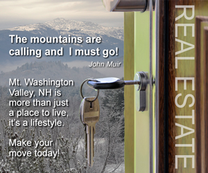 The Mount Washington Valley is more than just a place to llive, it's a lifestyle! Make your move today - Click here for real estate information.
