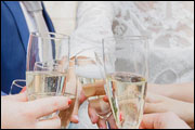 Champagne Toast - Dolce Norwalk Hotel & Conference Center - Norwalk, CT