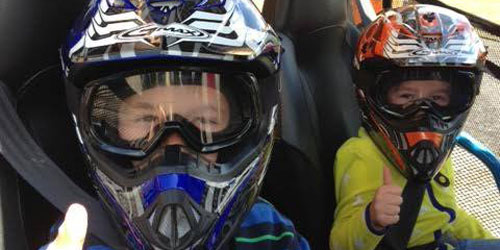 ATV Kids Close-up 500x250 - Bear Rock Adventures - Pittsburg, NH