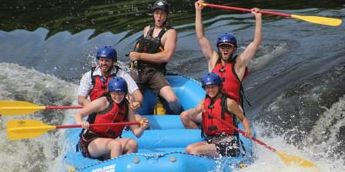 CT River Whitewater Group 500x250 - Berkshire East Mountain Resort - Charlemont, MA