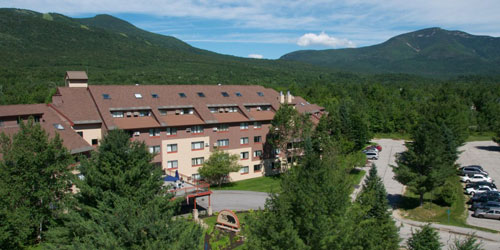 Spring Aerial View 500x250 - Black Bear Lodge - Waterville Valley, NH