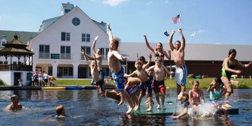 Summer in the Lake 500x250 - Black Bear Lodge - Waterville Valley, NH