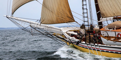Schooner Heritage - Maine Windjammers - Camden, ME - Photo Credit Don Sichler