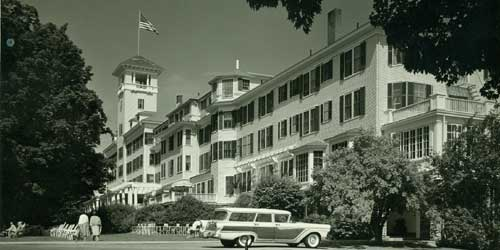 Historic BW Photo - Mountain View Grand Resort & Spa - Whitefield, NH