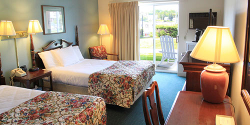 Double Room 500x250 - Boothbay Harbor Inn - Boothbay Harbor, ME