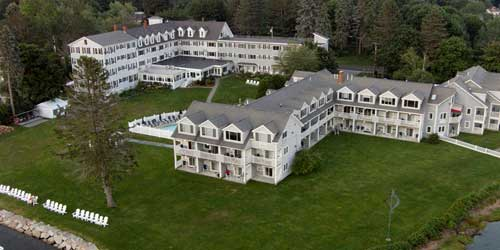Aerial View - Nonantum Resort - Kennebunkport, ME