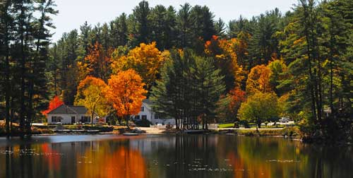 Fall View Purity Spring Resort Madison New Hampshire