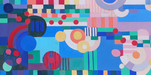 Gabrielle Thierry Painting 500x250 - Cantor Art Gallery - Worcester, MA