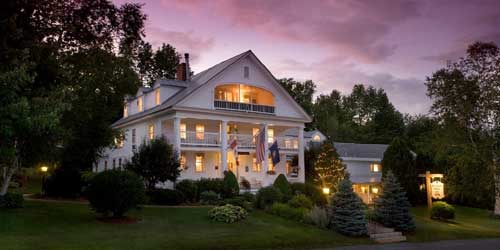 Exterior Rabbit Hill Inn Waterford Vermont