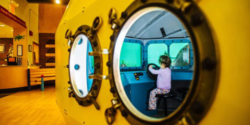 Yellow Submarine 500x250 - Children's Museum of New Hampshire - Dover, NH
