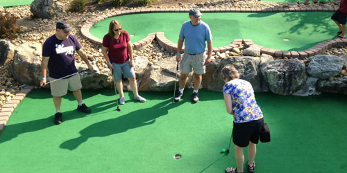 Mini Golf for All Ages 500x250 - Chuckster's Family Fun Park - Chichester, NH