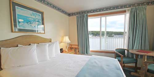 Guest Room  - Tugboat Inn - Boothbay Harbor, ME