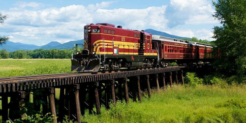 Valley Train 500x250 - Conway Scenic Railroad - North Conway, NH