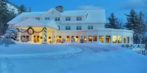 Exterior Winter White Mountain Hotel & Resort North Conway New Hampshire