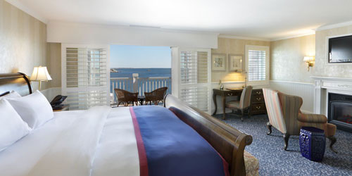 King Suite - Madison Beach Hotel - Madison, CT - Photo Credit Don Miguel Photography