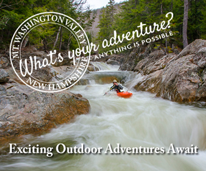 Mount Washington Valley, NH - What's Your Adventure? Click here to discover your outdoor adventure possibilities.