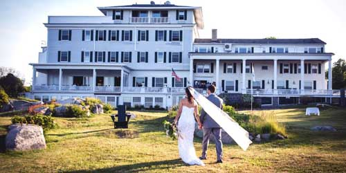Emerson Inn Waterfront Weddings Rockport MA