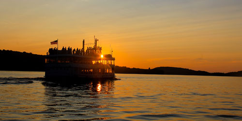 Sunset Cruise 500x250 - Essex Steam Train & Riverboat - Essex, CT