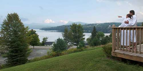 Willough Vale Inn & Cottages on Lake Willoughby Romantic Orleans VT