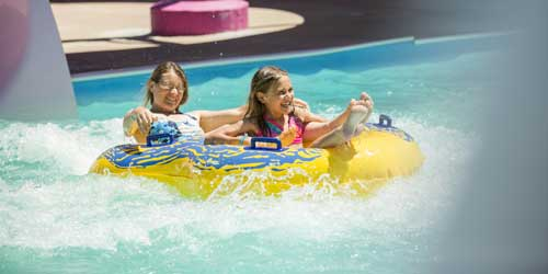Funtown Splashtown USA Water ride tubing Saco ME