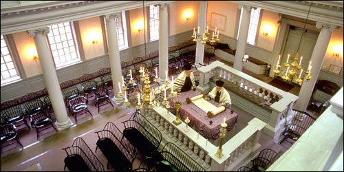Touro Synagogue in Newport – Colonial New England