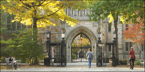 Yale University in New Haven – Colonial New England