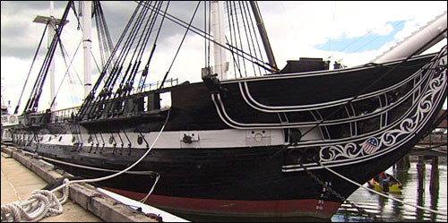 USS Constitution, Boston - Colonial New England