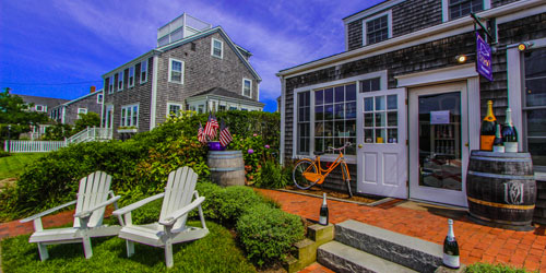 Outdoor View - Brant Point Courtyard - Nantucket, MA