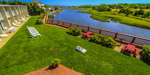Lawn & Patio - Riverview Resort - South Yarmouth, MA