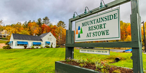 Fall Entrance - Mountainside Resort at Stowe - Stowe, VT