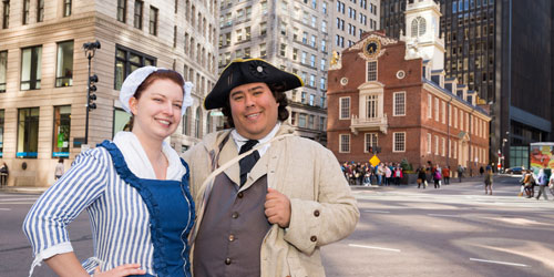 Freedom Trail, Boston MA - Colonial New England