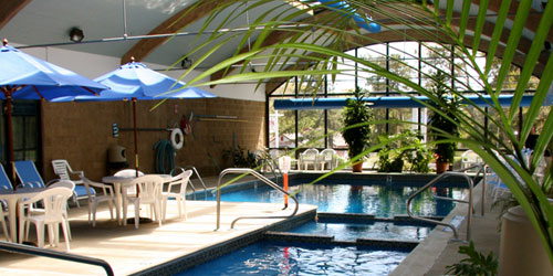 Indoor Pool - Holly Tree Resort - West Yarmouth, MA