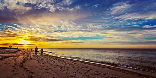 Sunset Stroll - Edgewater Beach Resort - Dennisport, MA