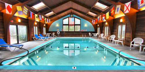 Indoor Pool - Cape Cod Holiday Estates - Mashpee, MA