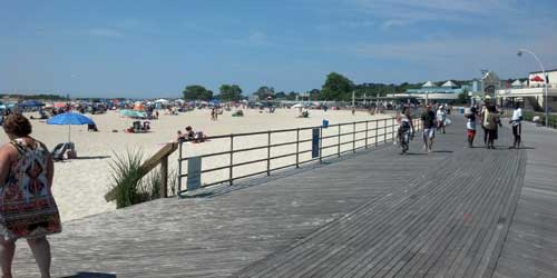 Ocean Beach Park Boardwalk New London CT