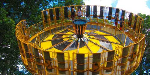 York's Wild Kingdom Super Spiral Ride York ME
