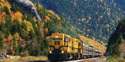 Conway Scenic Railroad - White Mountains, NH