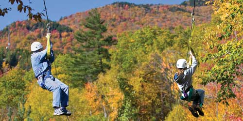 Alpine Adventures Zip Line - White Mountains, NH