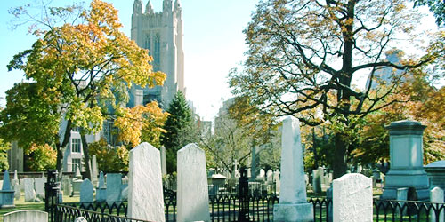 Grove Street Cemetery in New Haven CT