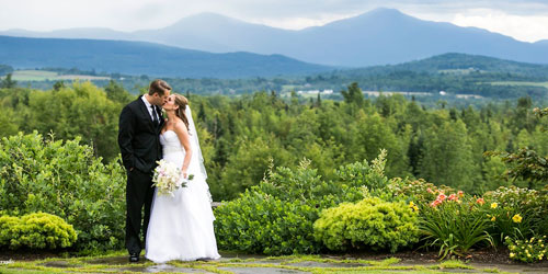Mountain Wedding View - Mountain View Grand Resort & Spa - Whitefield, NH - Photo credit Anne Skidmore Photography