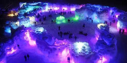 Ice Castles Aurora Lincoln NH