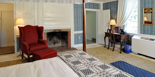 Fireplace Room - Old Sturbridge Inn & Reeder Cottages - Sturbridge, MA
