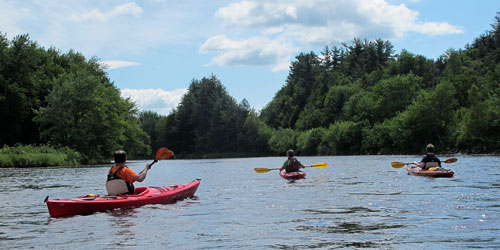 Paddling Adventure - Great Glen Trails - Gorham, NH