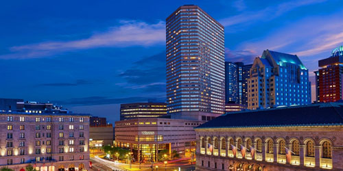 Evening View - Westin Copley Place - Boston, MA