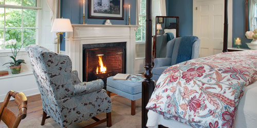 Monticello Room 500x250 - Captain Jefferds Inn - Kennebunkport, ME - Photo Credit Christian Gianelli
