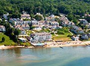 Waterfront Aerial View - Water's Edge Resort & Spa _ Westbrook, CT