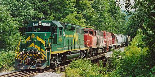 Excursion Trains in New England - Green Mountain Railroad